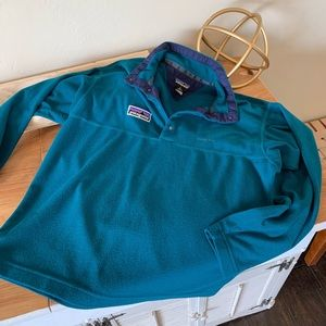 I rage Patagonia fleece pullover